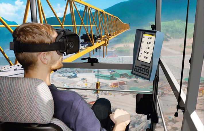 3686c0bbc970 Using Liebherr s VR goggles in tower crane training