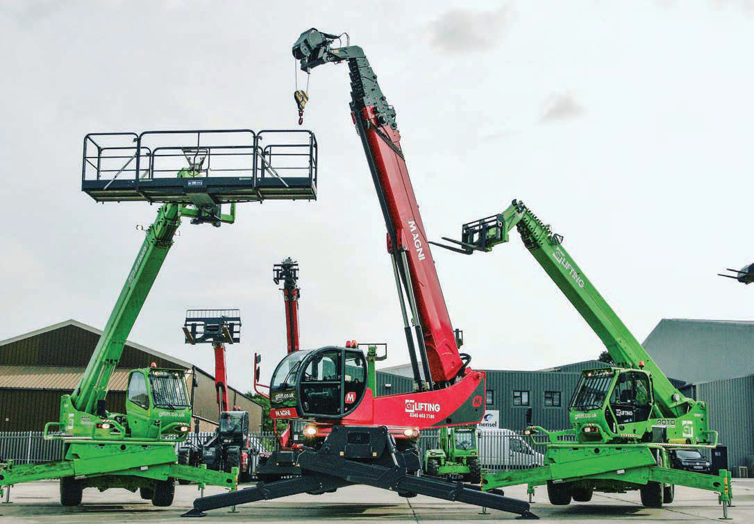 Telehandlers rising! - Cranes Today