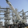 A Terex RT100 owned by Kuwaiti hire firm Integrated Logistics