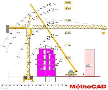 MethoCAD Mobile Crane Planning Software