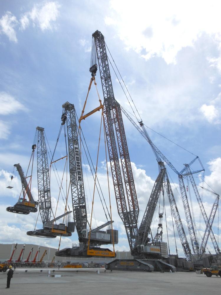Liebherr's heavy hitters - Cranes Today