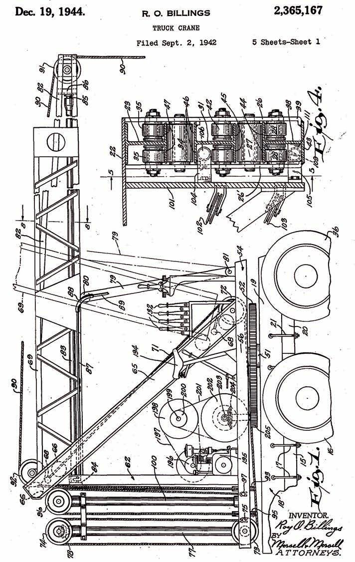 us patent 2365167  roy billing u2019s original patent for a