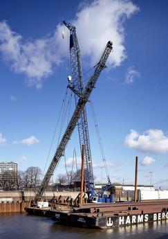 Liebherr HS 895 HD crawler crane - Image - Cranes Today